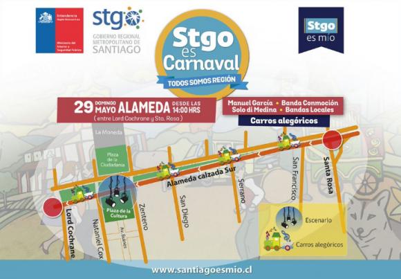 Santiago es Carnaval Dia del Patrimonio