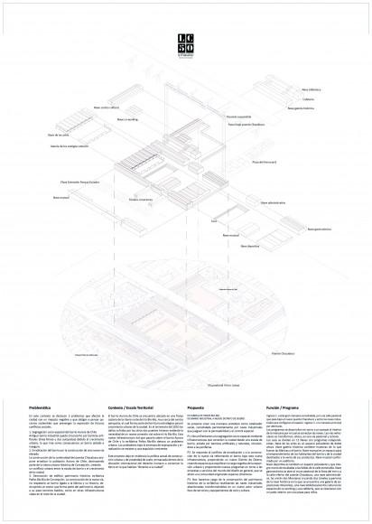 ALLM / Lámina 02. Image Cortesía de Arquitectura Caliente