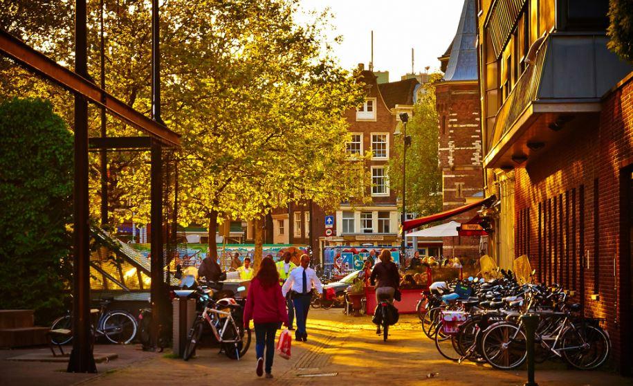 Amsterdam. Vía Flickr Commons. Usuario: Moyan Brenn. Licencia: CC BY 2.0