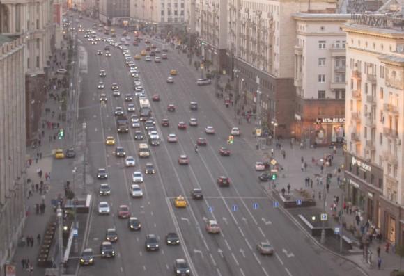 Calle Moscú, Rusia. © Flickr Usuario: Mikael Colville-Andersen. Licencia CC BY 2.0