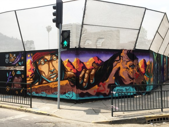 Barrio Bellavista en Recoleta, Santiago. Cortesía Faya E.C.