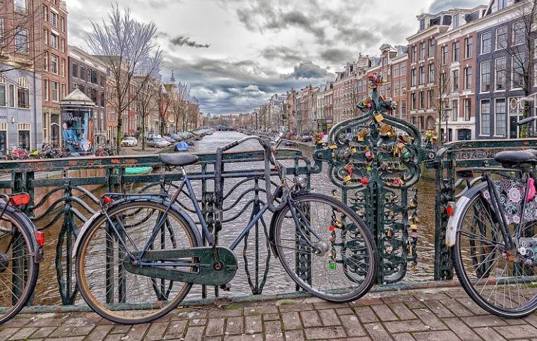 Amsterdam. Vía Flickr Commons. Usuario Diego Portela. Licencia: CC BY-NC-ND 2.0
