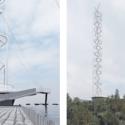 antena parque metropolitano de santiago