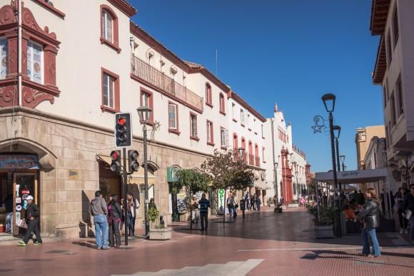 Centro histórico de La Serena. Fotografía por © Plataforma Urbana