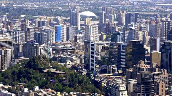 Cerro Santa Lucía y centro de Santiago. © Flickr Usuario: alobos Life. Licencia CC BY-NC-ND 2