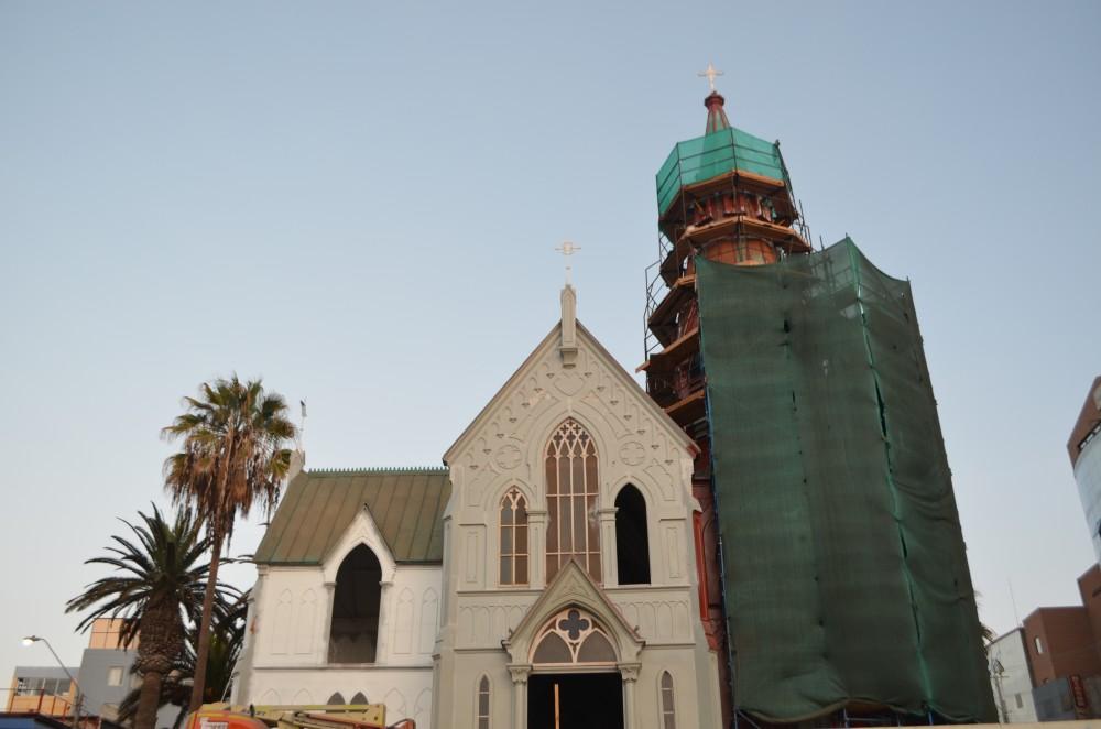 Restauración de la Catedral San Marcos de Arica (junio 2016). © Plataforma Urbana