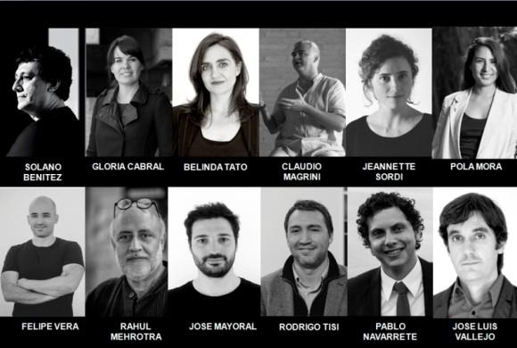Equipo Curatorial. Image Cortesía de Colegio de Arquitectos de Chile