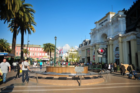 Estación Central, Santiago. © Plataforma Urbana