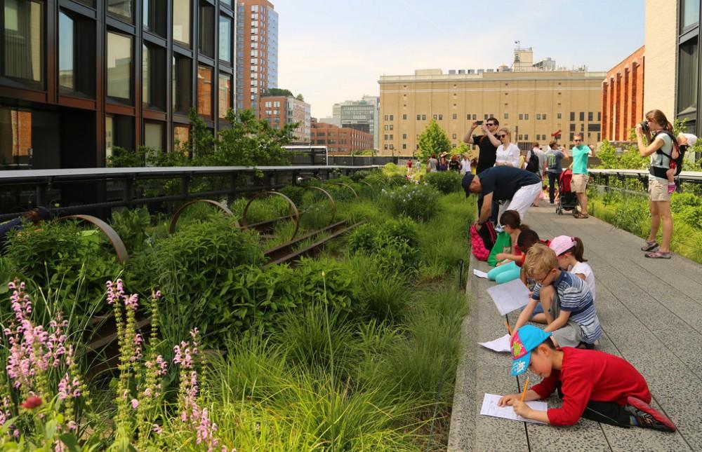High Line, Nueva York. Flickr usuario: UGArdener. Licencia CC BY-NC 2.0