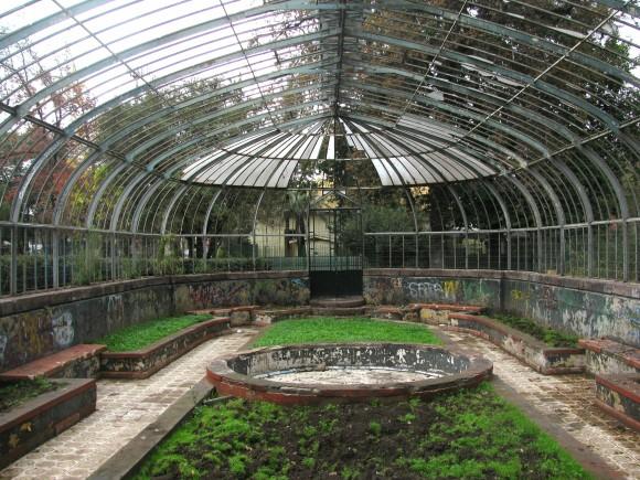 Invernadero de la Quinta Normal. Foto por © Plataforma Urbana