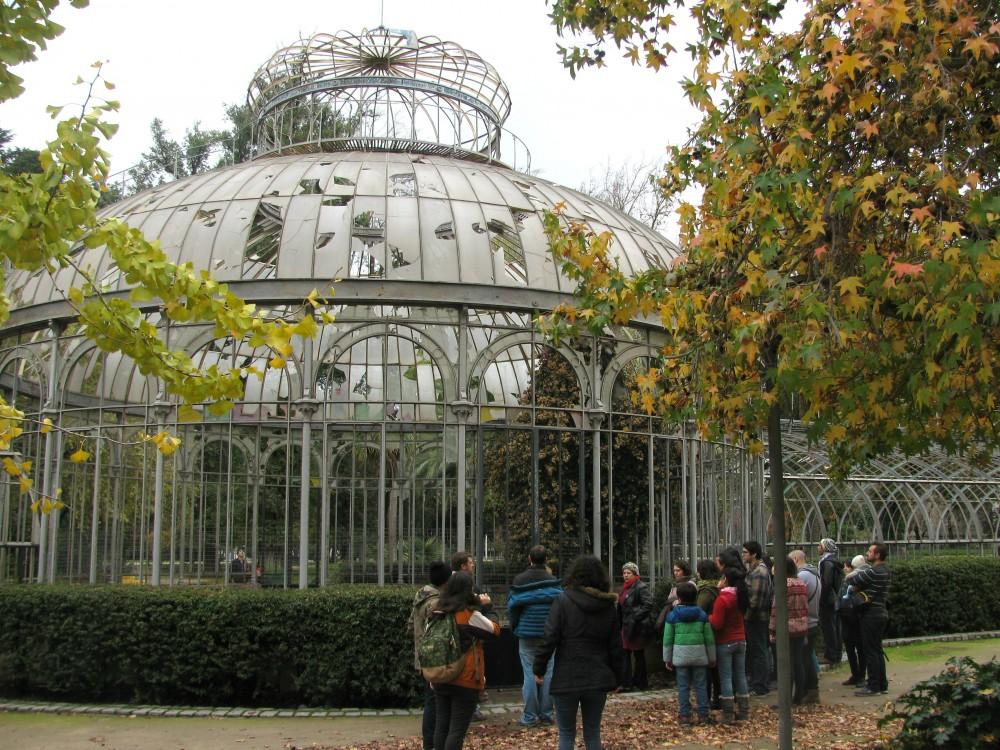 Día del Patrimonio en el Invernadero de la Quinta Normal. Foto por © Plataforma Urbana