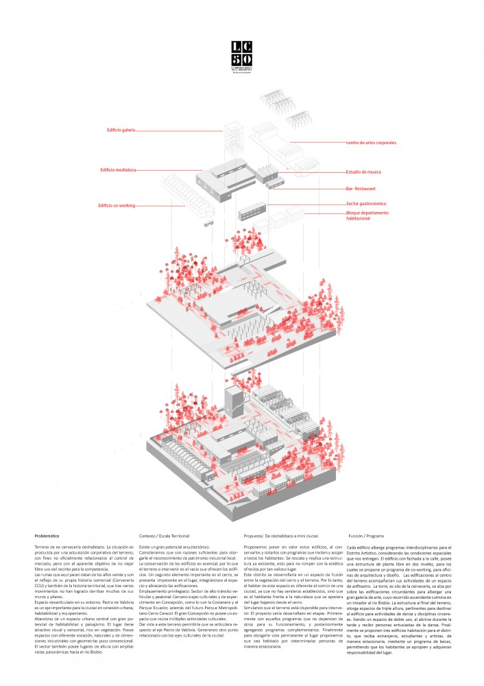 Grupo IX / Lámina 02. Image Cortesía de Arquitectura Caliente