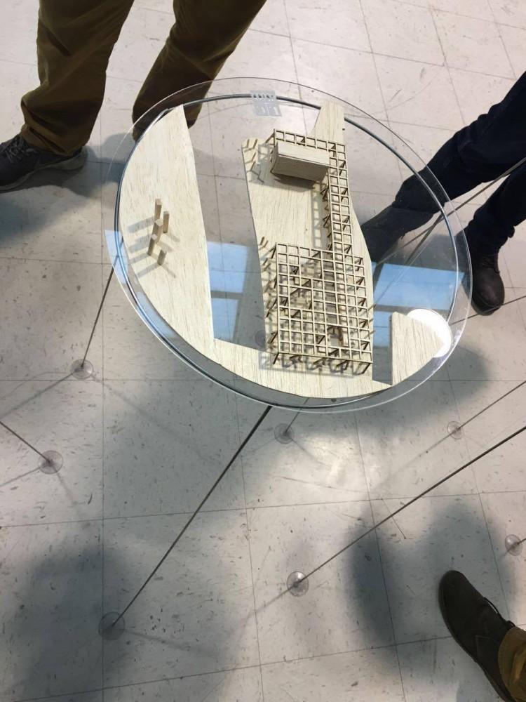 FBBNC E+A / Maqueta. Image Cortesía de Arquitectura Caliente