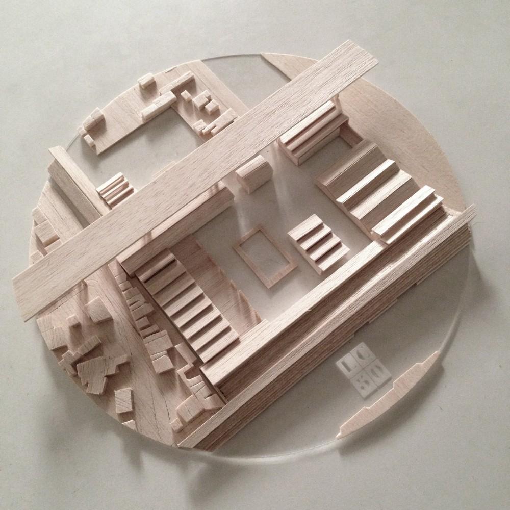 ALLM / Maqueta. Image Cortesía de Arquitectura Caliente