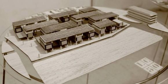 MCR3 / Maqueta. Image Cortesía de Arquitectura Caliente