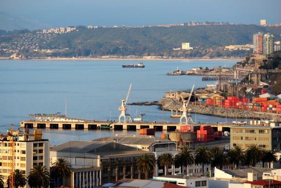 Muelle Barón, Valparaíso. © Flickr Usuario: Ojo Bionico. Licencia CC BY-NC 2.0