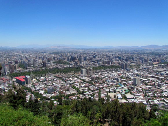 Santiago, Chile. © Flickr Usuario: David Berkowitz. Licencia CC BY 2.0
