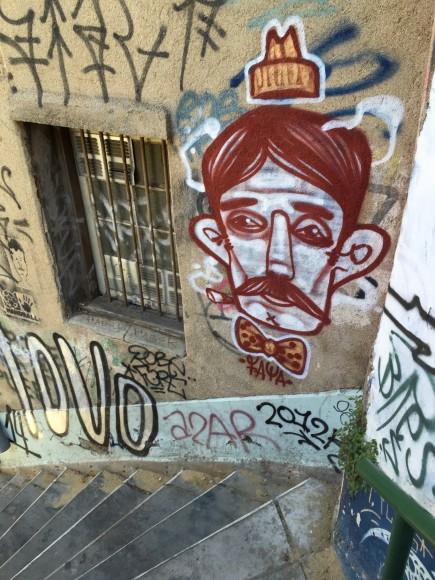 Mural en Valparaíso. Cortesía Faya E.C.