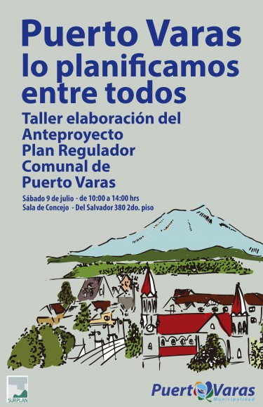 afiche anteproyecto PRC Puerto Varas