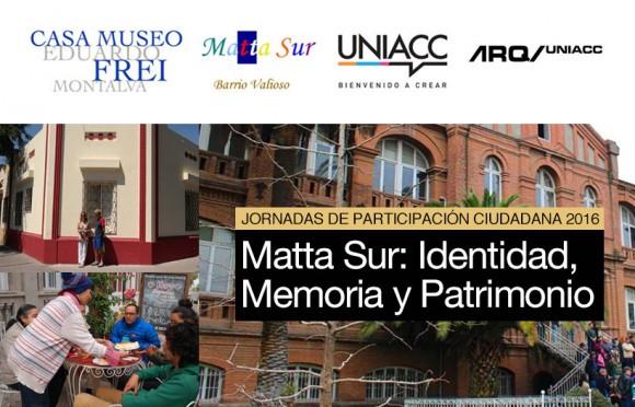 afiche charla participacion ciudadana casa museo eduardo frei montalva