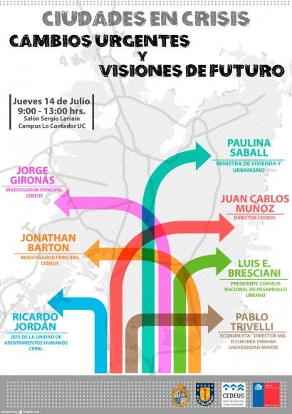 afiche seminario ciudades en crisis julio 2016