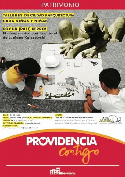 Afiche Taller de Arquitectura y Ciudad para Ninos L Kulczewski