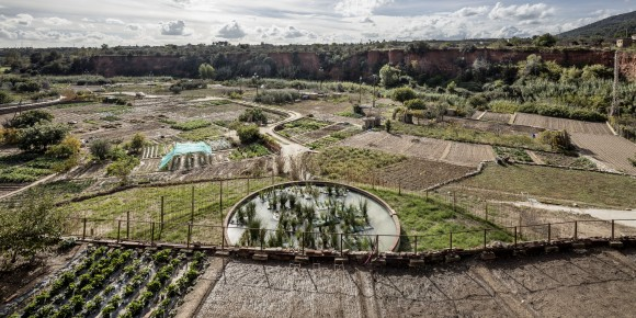 Recuperación del riego de las huertas termales / Cíclica + Cavaa Arquitectes. © Adrià Goula