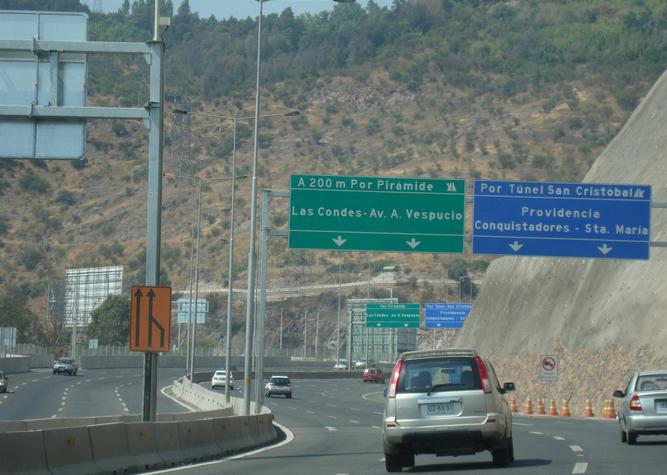 camino la piramide huechuraba