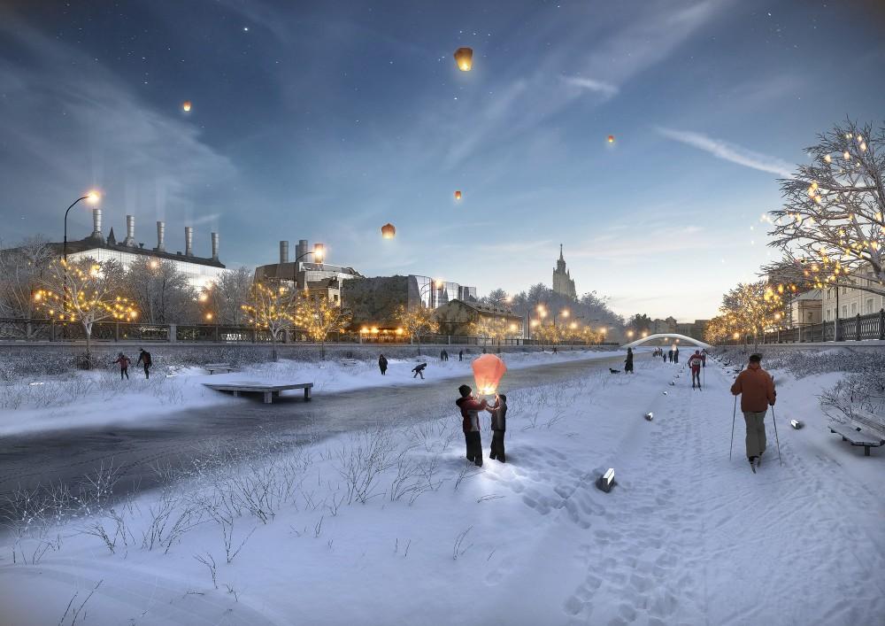 Canal Verde en invierno. © Cortesía de Project Meganom