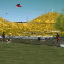 Imagen objetivo de la primera etapa del Parque Metropolitano Cerro Chena, Anfiteatro. Cortesía Gobierno Regional Metropolitano de Santiago para Plataforma Urbana
