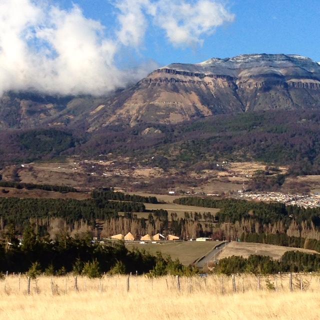 Vista del Museo Regional de Aysén desde la Carretera Internacional.  © Danae Santibáñez