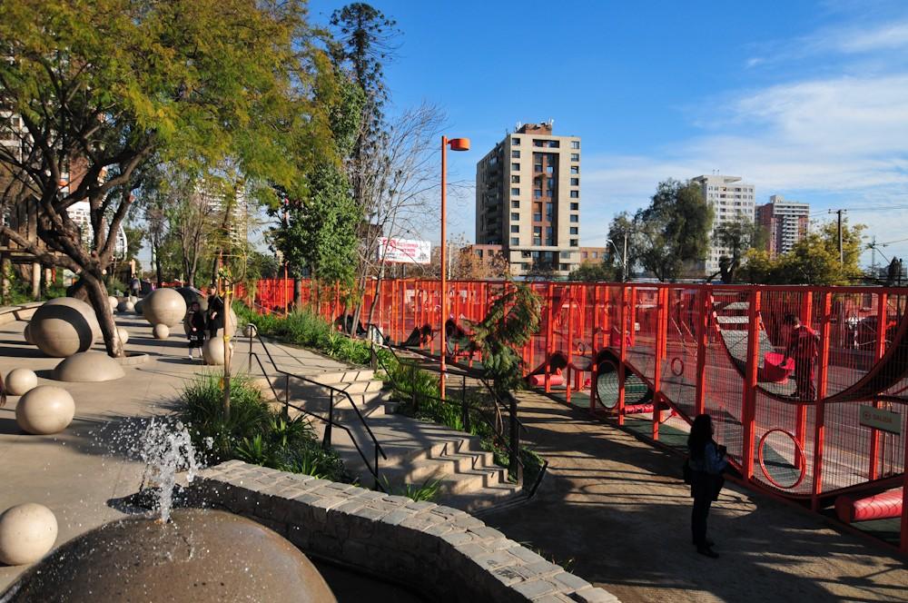 Parque Bicentenario de la Infancia, Recoleta. © Plataforma Urbana