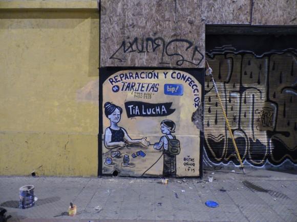 Mural en Gran Avenida. Cortesía de Minero 34.