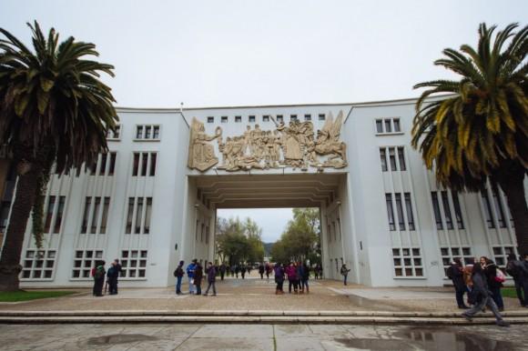 Arco de Medicina, Universidad de Concepción. © Plataforma Urbana