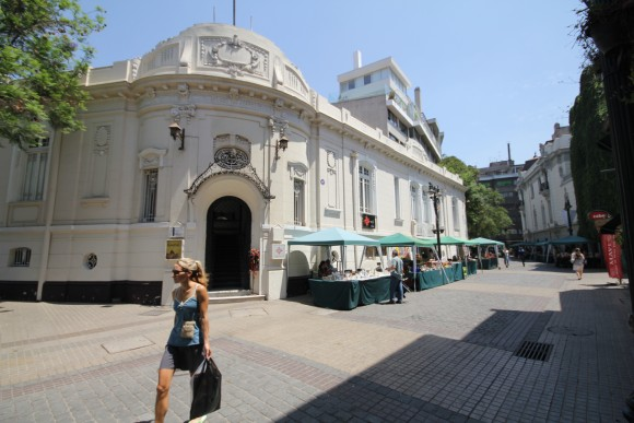 Barrio Lastarria, Santiago. © Plataforma Urbana