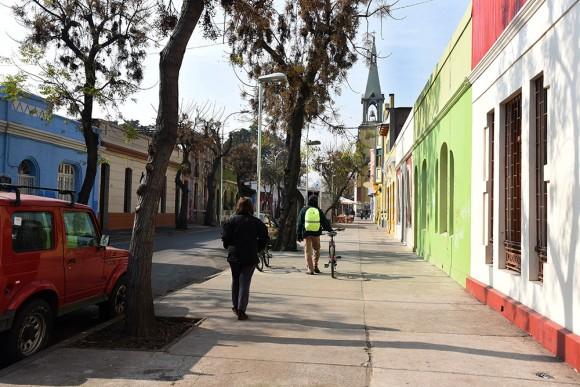 Vista de calle Santo Domingo hacia la Plaza Yungay © Flickr Usuario: Intendencia Metropolitana