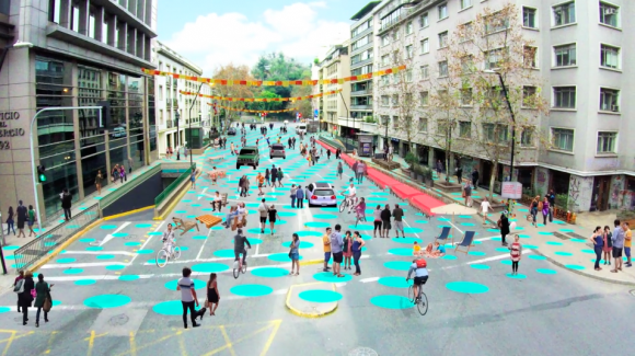 Calles Compartidas Santiago 2016