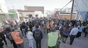 Simulacro en Antofagasta