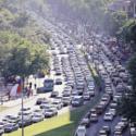 Congestion vial Santiago