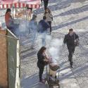 Comercio ambulante Alameda Santiago