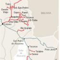 Conexion vial localidades andinas Chile