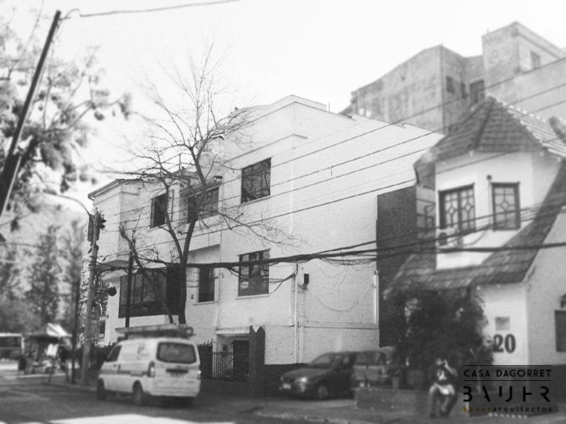 Casa Dagorret. © Cortesía Bauer Arquitectos