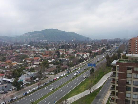 Cerro Alvarado, Santiago.  © Wikimedia Usuario: Quintupeu. Licencia: Dominio publico.