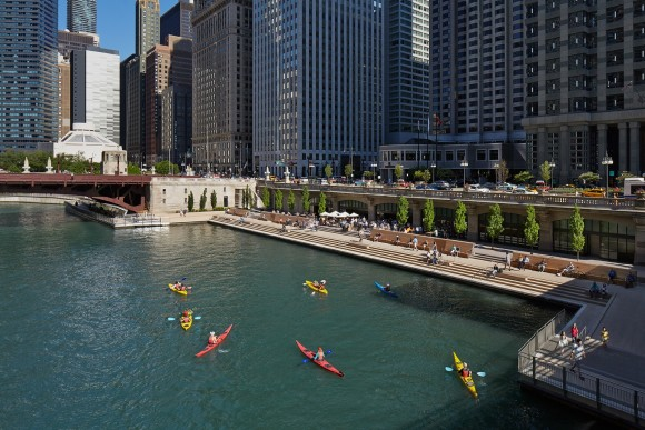 """Chicago Riverwalk"", Chicag, EE.UU. © Kate Joyce Studios"