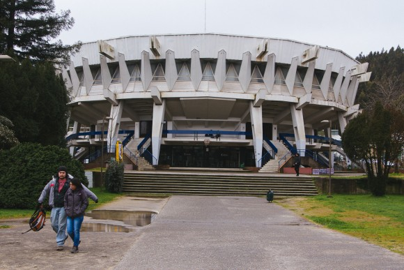"""""""El Plato"""", Universidad de Concepción. © Plataforma Urbana"""
