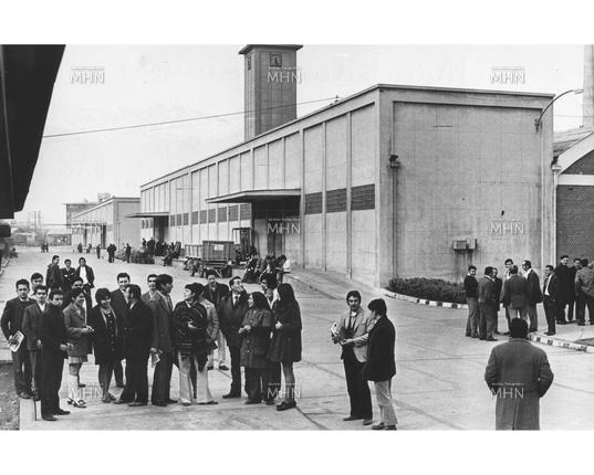 Estatización de manufacturas Sumar. 1972. Miguel Rubio. Archivo Fotográfico MHN.
