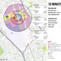 Plan para Warm Springs Community de Perkins+Will en Fremont, California. Imagen cortesía de Perkins+Will