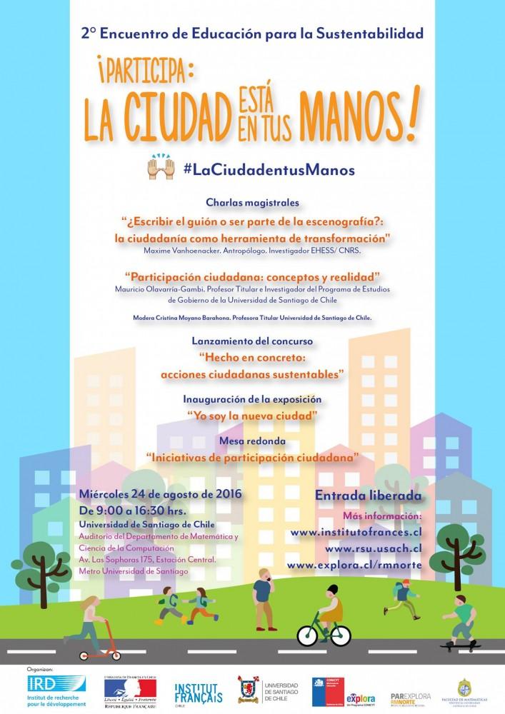 II Encuentro Educacion para la Sustentabilidad_Afiche