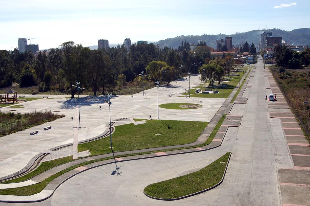 Parque Isla Cautín. Fuente: Municipalidad de Temuco
