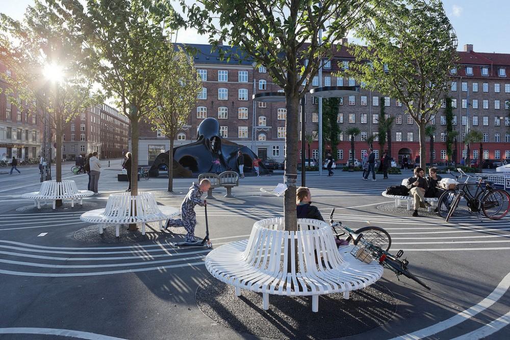 Parque Superkilen, Copenhague. © Flickr Usuario: Forgemind ArchiMedia. Licencia CC BY 2.0